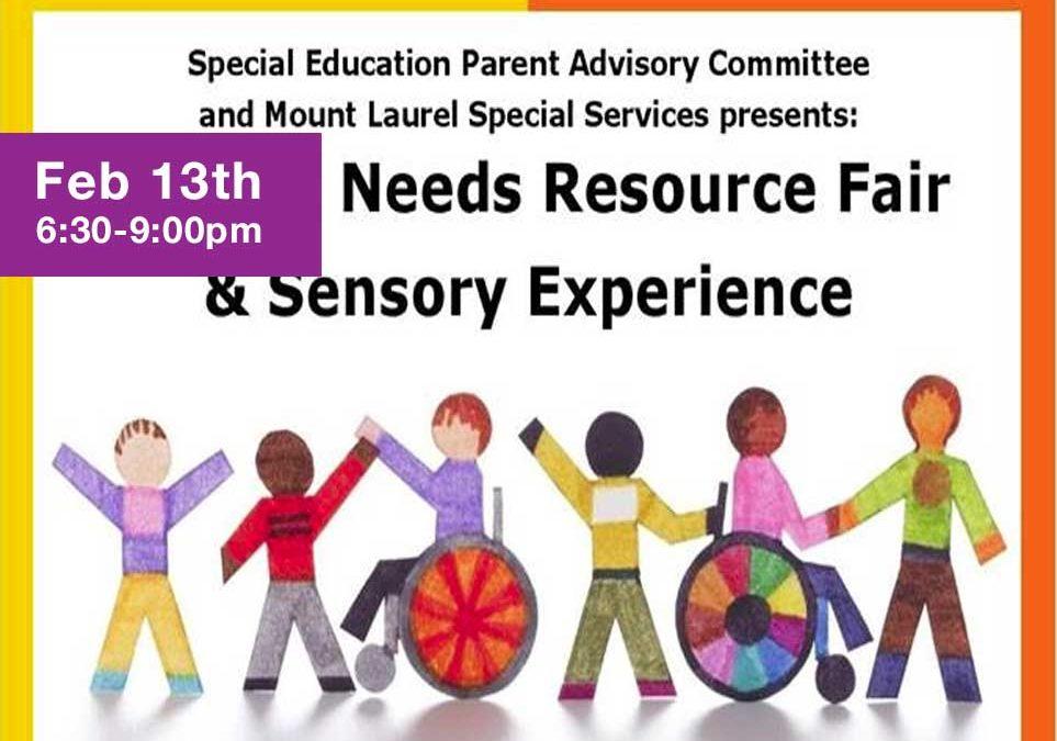 Mt Laurel Special Needs Resource Fair