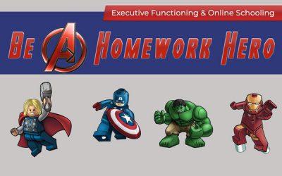Be A Homework Hero – Executive Functioning