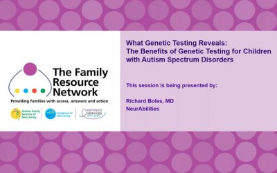 The Benefits of Genetic Testing for Children with Autism Spectrum Disorders