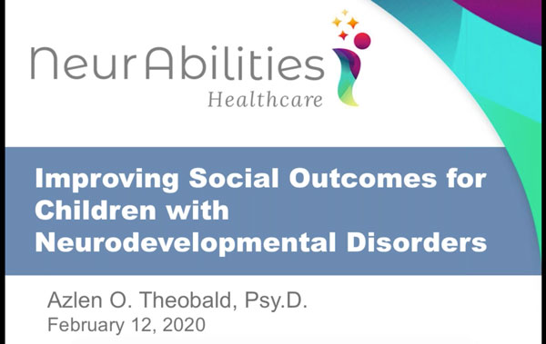 Improving Social Outcomes for Children with Neurodevelopmental Disorders