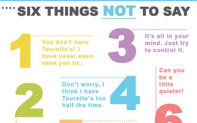 Six Things NOT To Say To Someone With Tourette Syndrome