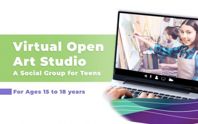 Virtual Open Art Studio Group For Teens