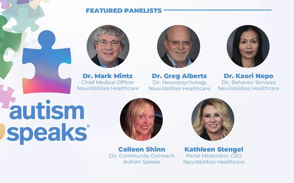 Webinar Panel With Autism Speaks