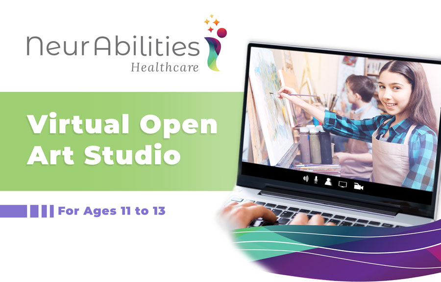 Virtual Open Art Studio Group For Pre-Teens